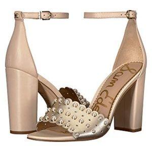 Sam Edelman Yaria Ankle Strap Sandal Heel Sz 6 NWT